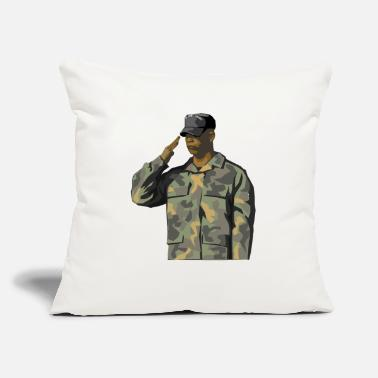 "Us US Soldier America US Army - Throw Pillow Cover 18"" x 18"""