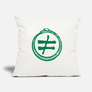 "Inequality - Throw Pillow Cover 18"" x 18"""