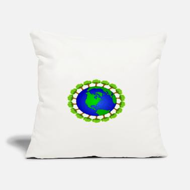 "Global global warming - Throw Pillow Cover 18"" x 18"""
