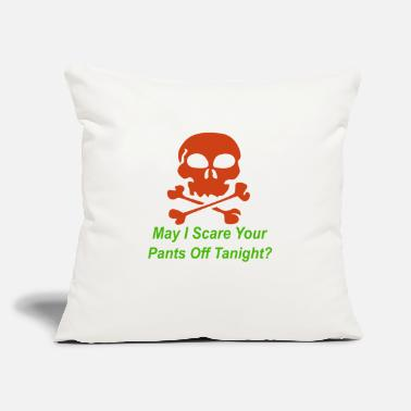 "Pickup Line Halloween pickup line - Throw Pillow Cover 18"" x 18"""