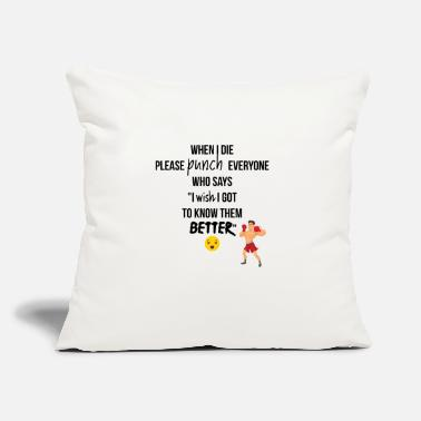 Punch Punch everyone - Throw Pillow Cover