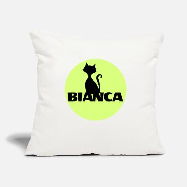 First Name Bianca name first name - Throw Pillow Cover