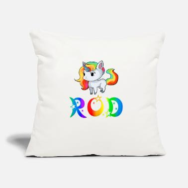 "Rod Rod Unicorn - Throw Pillow Cover 18"" x 18"""