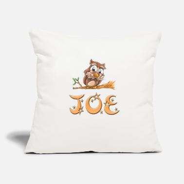 "Joe Joe Owl - Throw Pillow Cover 18"" x 18"""