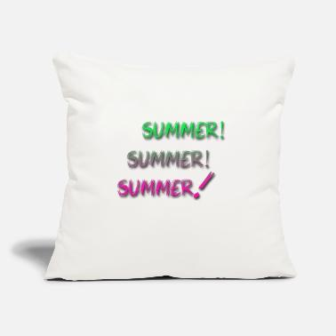 "Summer summer summer summer - Throw Pillow Cover 18"" x 18"""