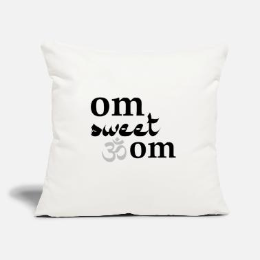 "Om Om Sweet Om - Throw Pillow Cover 18"" x 18"""