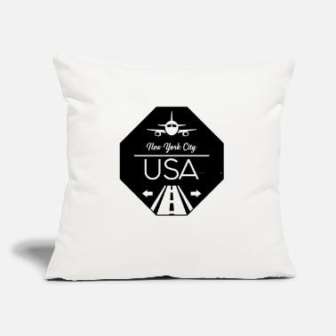 Ny NY USA - Throw Pillow Cover