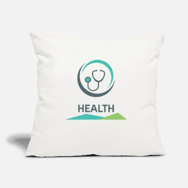 "Health Health - Throw Pillow Cover 18"" x 18"""
