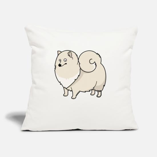 "Dog Owner Pillow Cases - Dog 14 - Throw Pillow Cover 18"" x 18"" natural white"