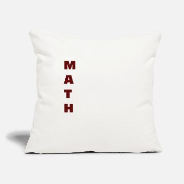 "Funny Math - Throw Pillow Cover 18"" x 18"""