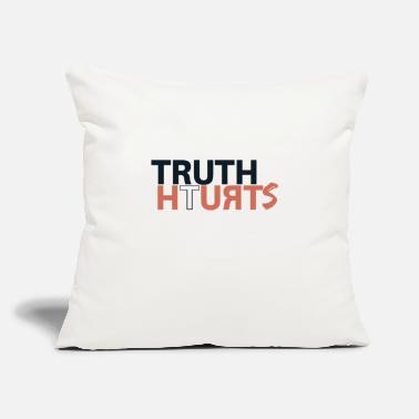 "Truth truth - Throw Pillow Cover 18"" x 18"""