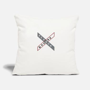"Person Person - Throw Pillow Cover 18"" x 18"""