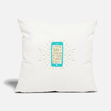 "Mobile Phone Generation mobile phone - Throw Pillow Cover 18"" x 18"""