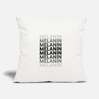 "Shades of Melanin - Throw Pillow Cover 18"" x 18"""
