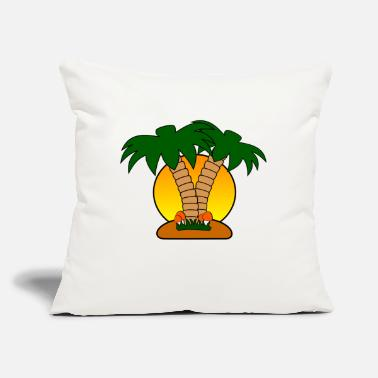 "Island island - Throw Pillow Cover 18"" x 18"""