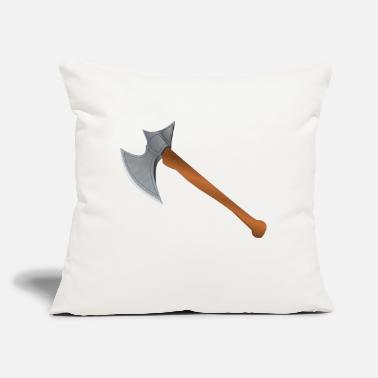 "Axe axe - Throw Pillow Cover 18"" x 18"""