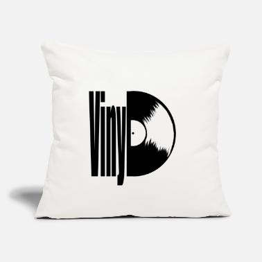 "Vinyl Vinyl - Throw Pillow Cover 18"" x 18"""
