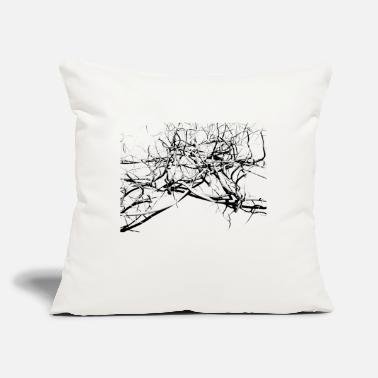 "Chaos chaos - Throw Pillow Cover 18"" x 18"""