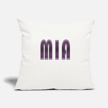 "Womens Name Mia name - Throw Pillow Cover 18"" x 18"" f91b97acfe"