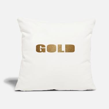 Gold GOLD - Throw Pillow Cover