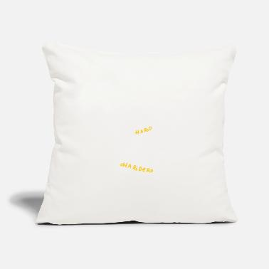 "Harder Style Work Hard Pray Harder - Throw Pillow Cover 18"" x 18"""