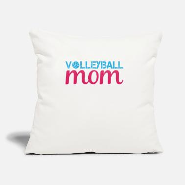 "Idea Volleyball Mom | gift idea - Throw Pillow Cover 18"" x 18"""
