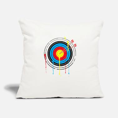 "Recurve Target Archery Compound Recurve Bow - Throw Pillow Cover 18"" x 18"""