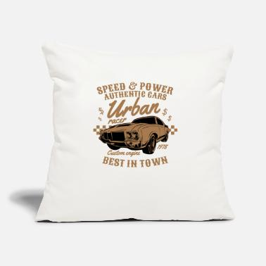 "Urban urban - Throw Pillow Cover 18"" x 18"""