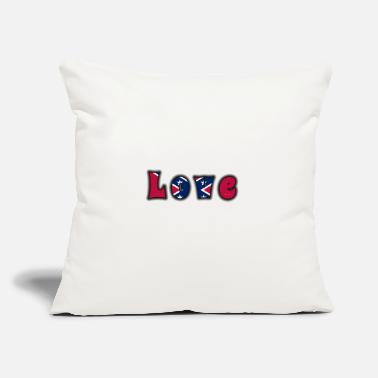 "South Love South - Throw Pillow Cover 18"" x 18"""