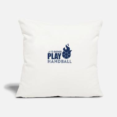 "Handball Handball Handball Handball Handball - Throw Pillow Cover 18"" x 18"""