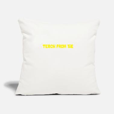 "Legendary teachers - Throw Pillow Cover 18"" x 18"""
