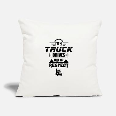 "Trucks Truck Driver Trucker Drive Truck Driving - Throw Pillow Cover 18"" x 18"""