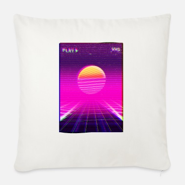 80s Neon Grid Sunset Vaporwave Synthwave Outrun Mouse Pad Spreadshirt