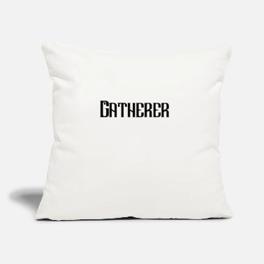 "Collector Collector - Throw Pillow Cover 18"" x 18"""