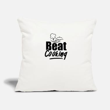 "Cook Cooking Cooking Cooking Cooking - Throw Pillow Cover 18"" x 18"""