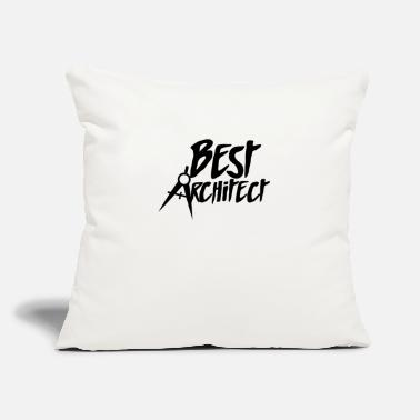 "Architect Architect Architect Architect Architect - Throw Pillow Cover 18"" x 18"""