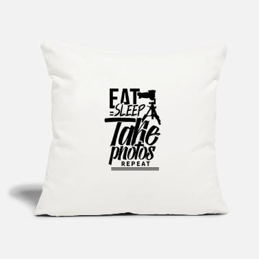 "Photographer Photographer Photographer Photographer - Throw Pillow Cover 18"" x 18"""