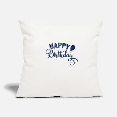"Birthday Birthday Birthday Birthday Birthday - Throw Pillow Cover 18"" x 18"""