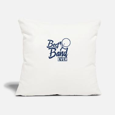 "Band Marching Band Marching Band Marching Band - Throw Pillow Cover 18"" x 18"""