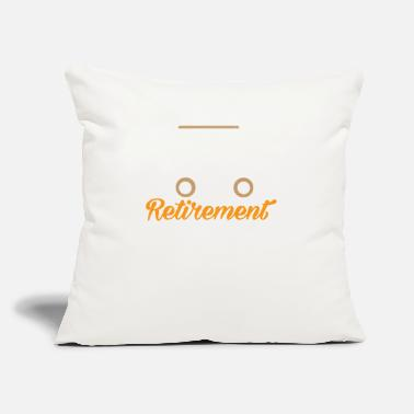 "Vehicle RETIREMENT VEHICLE - Throw Pillow Cover 18"" x 18"""