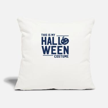 "Halloween Halloween Halloween Halloween Halloween - Throw Pillow Cover 18"" x 18"""