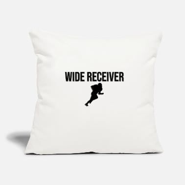 "Wide Receiver Wide Receiver - Throw Pillow Cover 18"" x 18"""