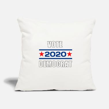 "Vote Democrat Vote democrat 2020 - Throw Pillow Cover 18"" x 18"""