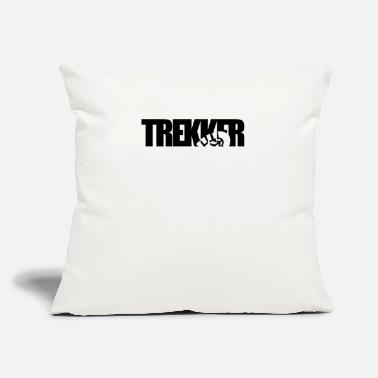 "Trek Trekking - Throw Pillow Cover 18"" x 18"""