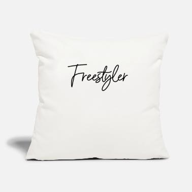 "Freestyle Freestyler - Throw Pillow Cover 18"" x 18"""