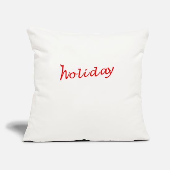 "Tshirtforprint Pillow Cases - Holiday - Throw Pillow Cover 18"" x 18"" natural white"