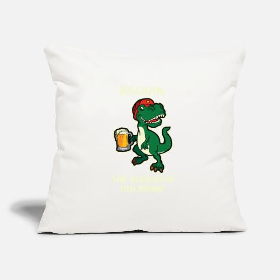 "Fire Pillow Cases - Fire brigade Fire Dino Fire brigade Counter fire - Throw Pillow Cover 18"" x 18"" natural white"