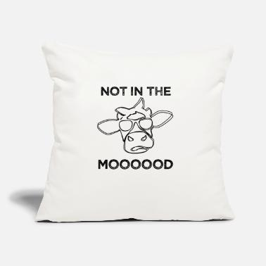 "Mood Not in the Mood - Throw Pillow Cover 18"" x 18"""