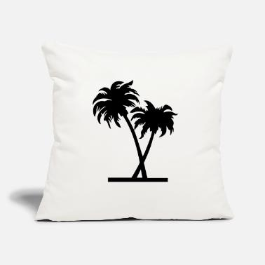 "Palm Trees palm - palm tree - Throw Pillow Cover 18"" x 18"""
