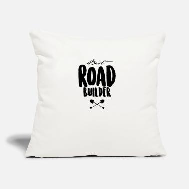 "Building Build - Throw Pillow Cover 18"" x 18"""
